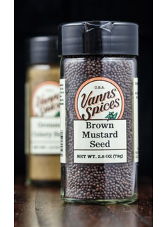 Vanns Spices Mustard Seed, Brown
