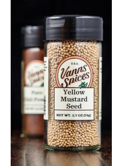Vanns Spices Mustard Seed, Yellow