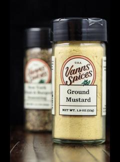Vanns Spices Mustard, Ground