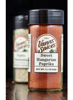 Vanns Spices Paprika, Sweet Hungarian