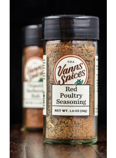 Vanns Spices Poultry Seasoning, Red