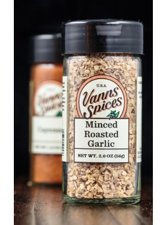 Vanns Spices Minced Roasted Garlic