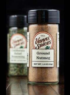 Vanns Spices Ground Nutmeg