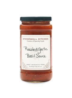 Stonewall Kitchen Roasted Garlic Basil Sauce 18.5