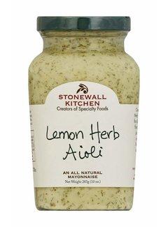 Stonewall Kitchen Lemon Herb Aioli 10oz