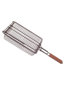 Charcoal Companion Non-Stick Shaker Basket with Lid