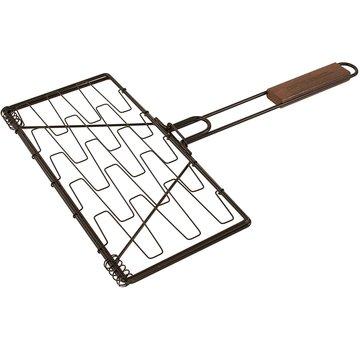 Charcoal Companion Non-Stick Flexi Plank Grilling Basket