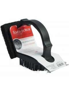 Charcoal Companion Plastic 2 In 1 Safe-Scrub™ Grill Brush