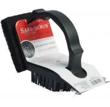Charcoal Companion Plastic 2 In 1 Safe-Scrub™ Grill Brush