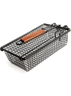 Charcoal Companion Non-Stick Shaker Basket W/Folding Handle