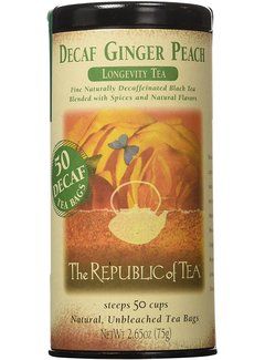 Republic of Tea Decaf Ginger Peach