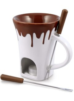 Swissmar Nostalgia 4 Pc. Chocolate Fondue Mug Set