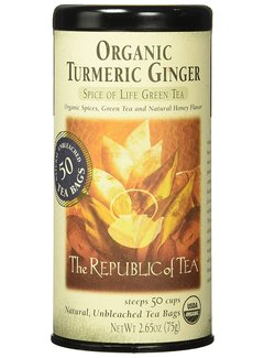 Republic of Tea Organic Turmeric Ginger