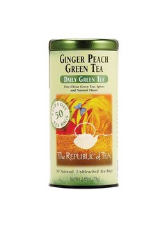 Republic of Tea Ginger Peach Green