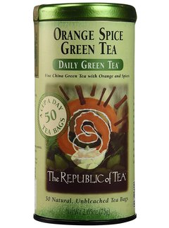 Republic of Tea Orange Spice Green