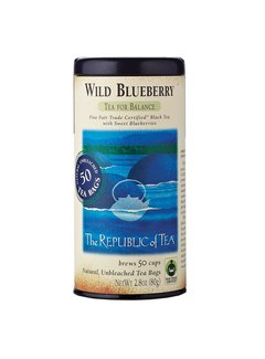 Republic of Tea Wild Bluberry