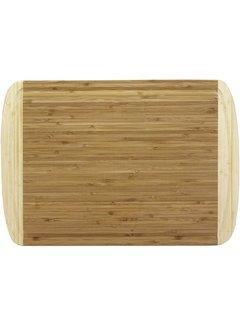 "Totally Bamboo Kona Groove Cutting Board 18"" x 12 1/2"" x 5/8"""