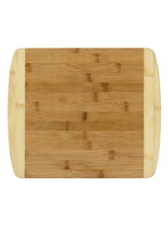 "Totally Bamboo 13"" 2-Tone Cutting Board"