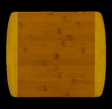 """Totally Bamboo 13"""" 2-Tone Cutting Board"""