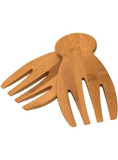 """Totally Bamboo Salad Hands - 7"""" x 4"""""""