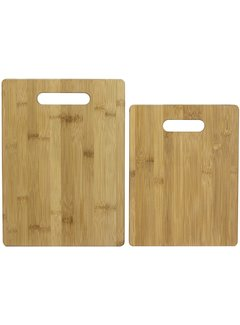 Totally Bamboo Cutting Boards, 2 Pc Set