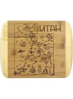Totally Bamboo Slice of Life Utah Cutting Board