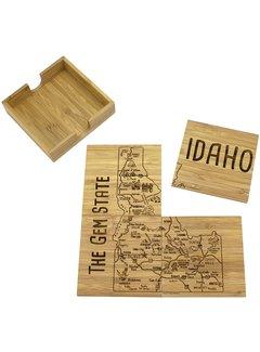 Totally Bamboo Idaho Puzzle Coaster