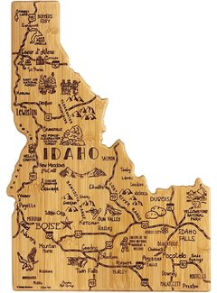 Totally Bamboo Destination Idaho Cutting Board