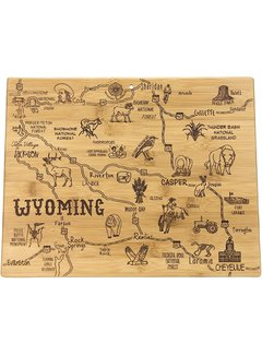 Totally Bamboo Destination Wyoming Cutting Board