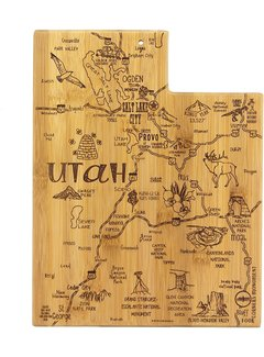 Totally Bamboo Destination Utah Cutting Board