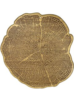 "Totally Bamboo Tree of Life Cutting Board - 13 1/2"" x 13"" x 5/8"""