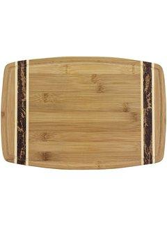 "Totally Bamboo Marbled Bamboo Cutting Board 15"" x 10"" x 3/4"""