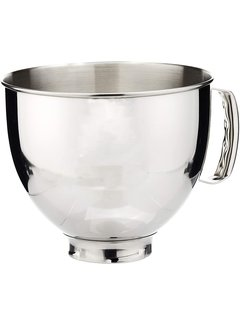 KitchenAid 5 QT Bowl, SS w/Handle (for 5 QT Tilt Head)