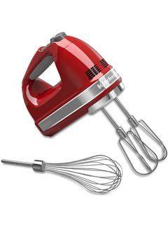 KitchenAid 7-Speed Ultra Power Hand Mixer - Empire Red