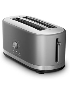 KitchenAid 4-Slice Long Slot Toaster  - Contour Silver