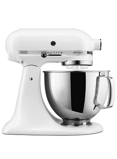 KitchenAid 5 QT Artisan Stand Mixer - White