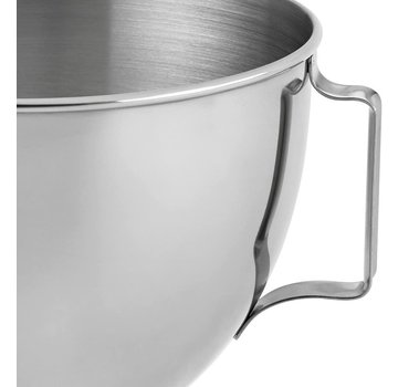 KitchenAid 4.5 QT Bowl, Polished SS with Handle