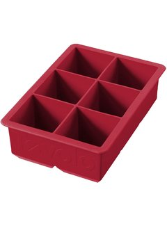 Tovolo King Cube Ice Tray - Cayenne