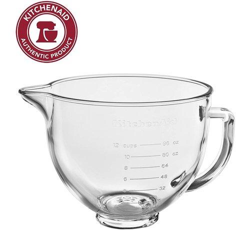 KitchenAid 5 QT Glass Bowl (for 5 QT Tilt Head)