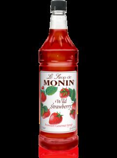 Monin Wild Strawberry Syrup