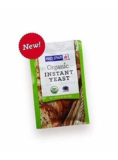 Breadtopia Red Star Organic Instant Dry Yeast
