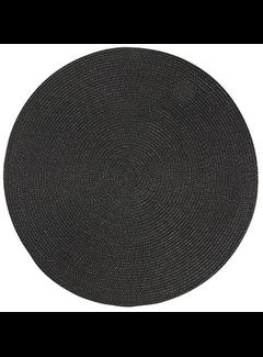Now Designs Black Disko Placemat
