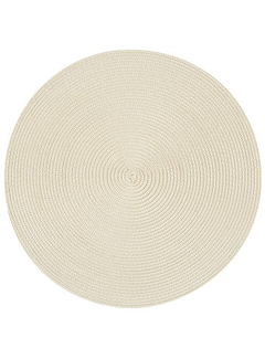 Now Designs Ivory Disko Placemat