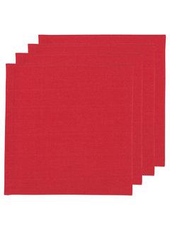 Now Designs Renew Solid Chili 4 Napkin Set