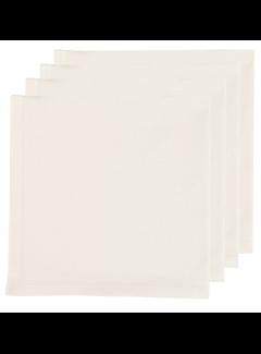 Now Designs Renew Solid Ivory 4 Napkin Set