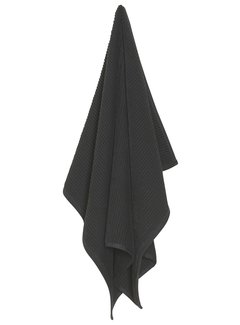 Now Designs Black Ripple Kitchen Towel