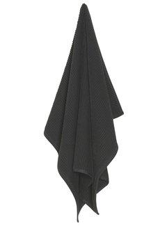 Now Designs Black Ripple Kitchen Towel