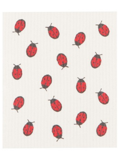 Now Designs Ladybug Swedish Dishcloth