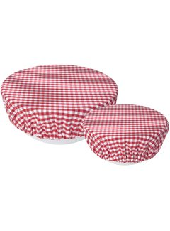Now Designs Gingham Bowl Cover - 2 Piece