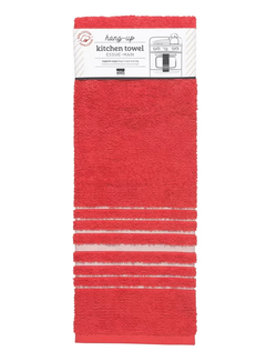 Now Designs Red Hang-Up Towel